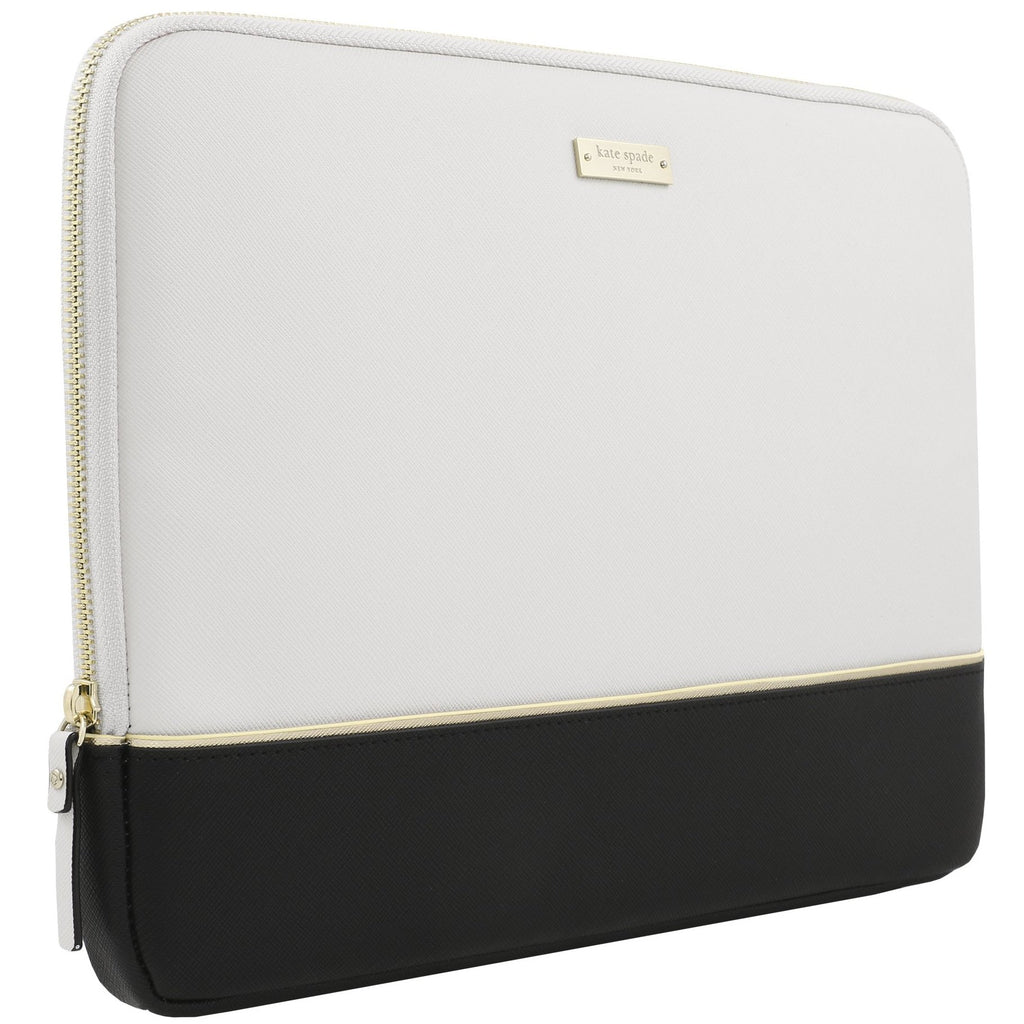 Shop Australia stock KATE SPADE NEW YORK COLOR BLOCK SLEEVE FOR MACBOOK UPTO 13 INCH - BLACK/CEMENT/GOLD with free shipping online. Shop Kate Spade New York collections with afterpay Australia Stock