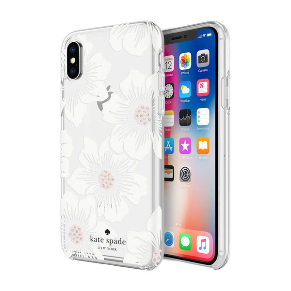 Kate Spade New York Case Flower pattern for iPhone Xs & iPhone X