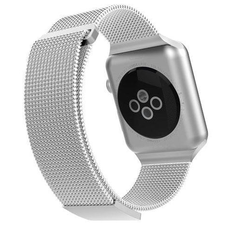 buy online with free shipping apple watch case silver color