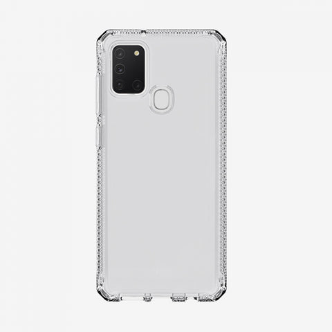 samsung a21s clear case from itskins australia with aferpay payment