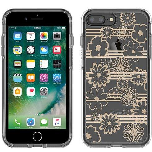 the one and only place to shop cheap OTTERBOX SYMMETRY CLEAR GRAPHICS CASE FOR iPHONE 8 PLUS/7 PLUS - DRIVE ME DAISY flower patter. Free shipping express australia from authorized distributor Syntricate.