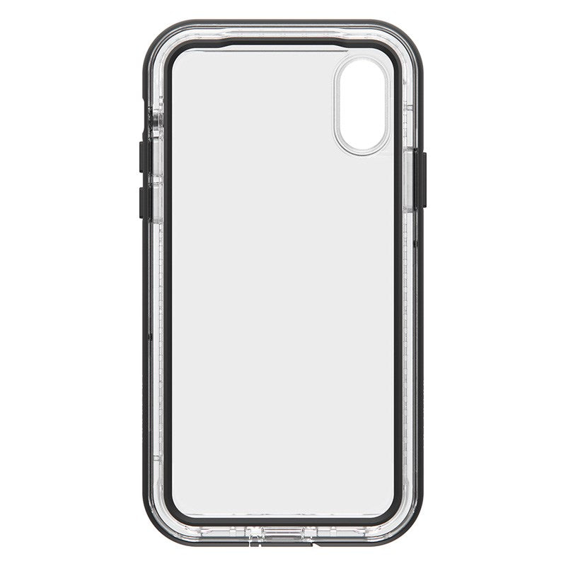 front view of black clear case next series from lifeproof Australia Stock