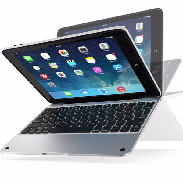 plac to buy genuine ClamCase Pro Keyboard Case for iPad 4/3/2 - Silver/White australia
