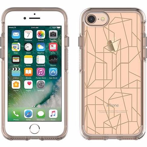 OTTERBOX SYMMETRY CLEAR GRAPHICS CASE FOR iPHONE 8/7 - DROP ME A LINE