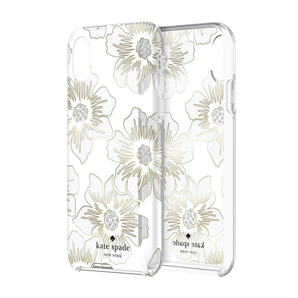 flower pattern case white colour from iphone xr from kate spade