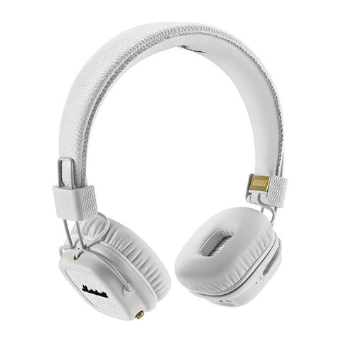 Shop Australia stock MARSHALL MAJOR II BLUETOOTH ON-EAR HEADPHONES - WHITE with free shipping online. Shop Marshall Headphones collections with afterpay