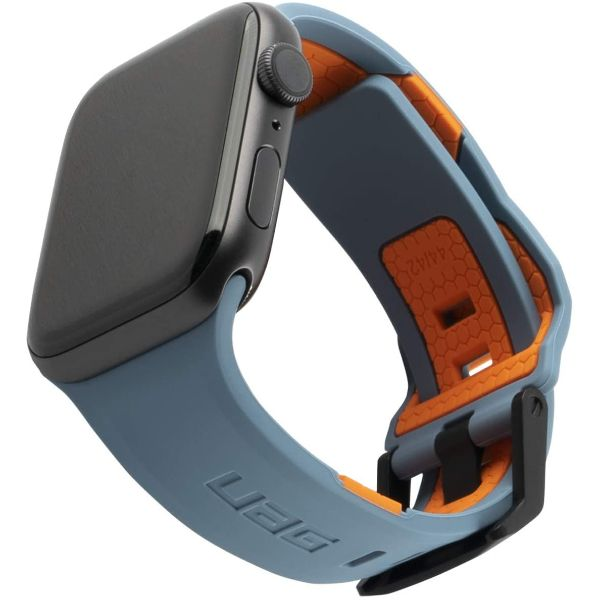 apple watch series se/6/5/4 silicone outdoor strap band with sporty look for your device
