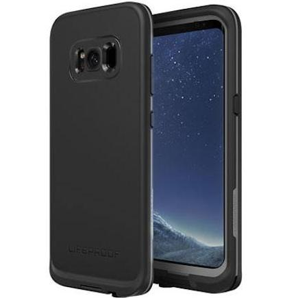 LIFEPROOF FRE WATERPROOF CASE FOR GALAXY S8+ PLUS (6.2 inch)  -  ASPHALT BLACK