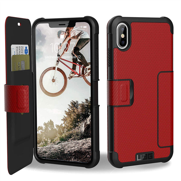 Urban Armour Gear Metropolis case for iPhone XS max with extra storage