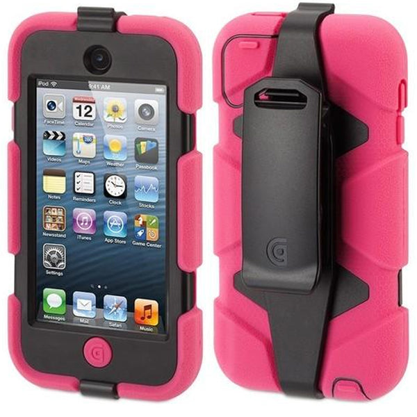 griffin all terrain ipod 5th and 6th gen case pink. Rugged case for ipod