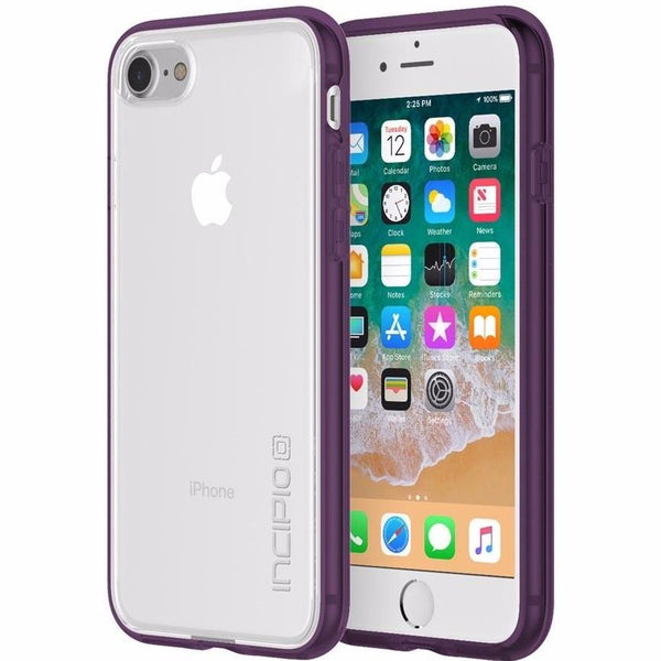 buy genuine and though case from Incipio Octane Pure Translucent Co-Molded Case For Iphone 8/7 - Clear/Plum. free shipping australia wide.