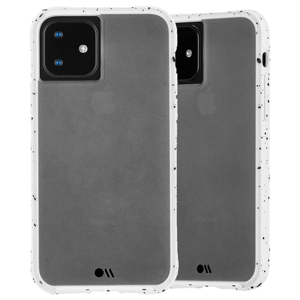 "Shop Australia stock CaseMate Tough Speckled Case For iPhone 11 (6.1"") - Athletic White with free shipping online. Shop Casemate collections with afterpay"