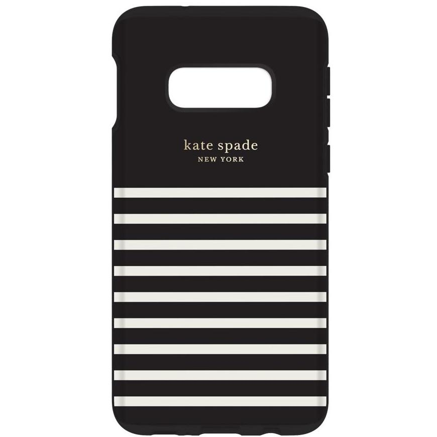 black stripe case from kate spade for new samsung s10e Australia Stock