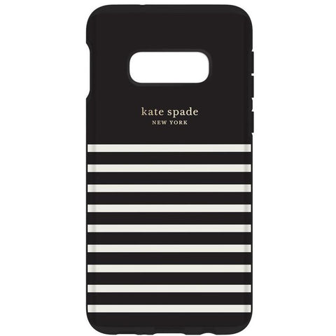black stripe case from kate spade for new samsung s10e