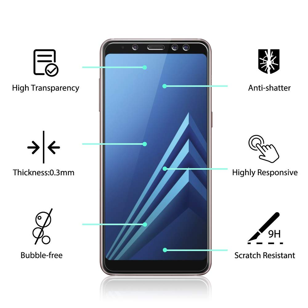 buy online screen protector for samsung galaxy a8 with afterpay payment Australia Stock
