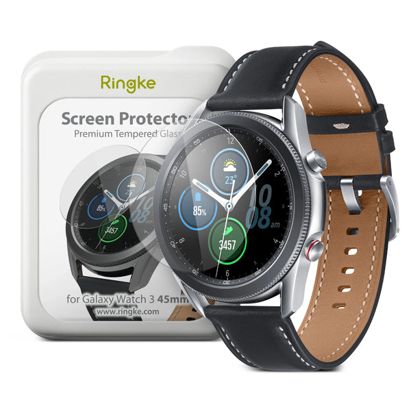 place to buy online with free express shipping australia wide best tempered glass for samsung galaxy watch 3 (45mm)
