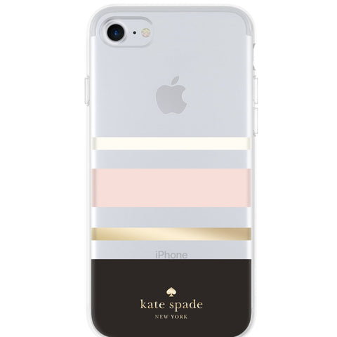 Shop Australia stock KATE SPADE NEW YORK PROTECTIVE HARDSHELL CASE FOR iPHONE 8/7/6S - CHARLOTTE STRIPE with free shipping online. Shop Kate Spade New York collections with afterpay