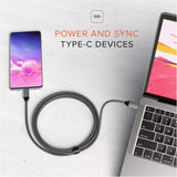 Shop Australia stock SATECHI USB-C TO USB-C 100W BRAIDED CHARGING CABLE 2 METER with free shipping online. Shop SATECHI collections with afterpay