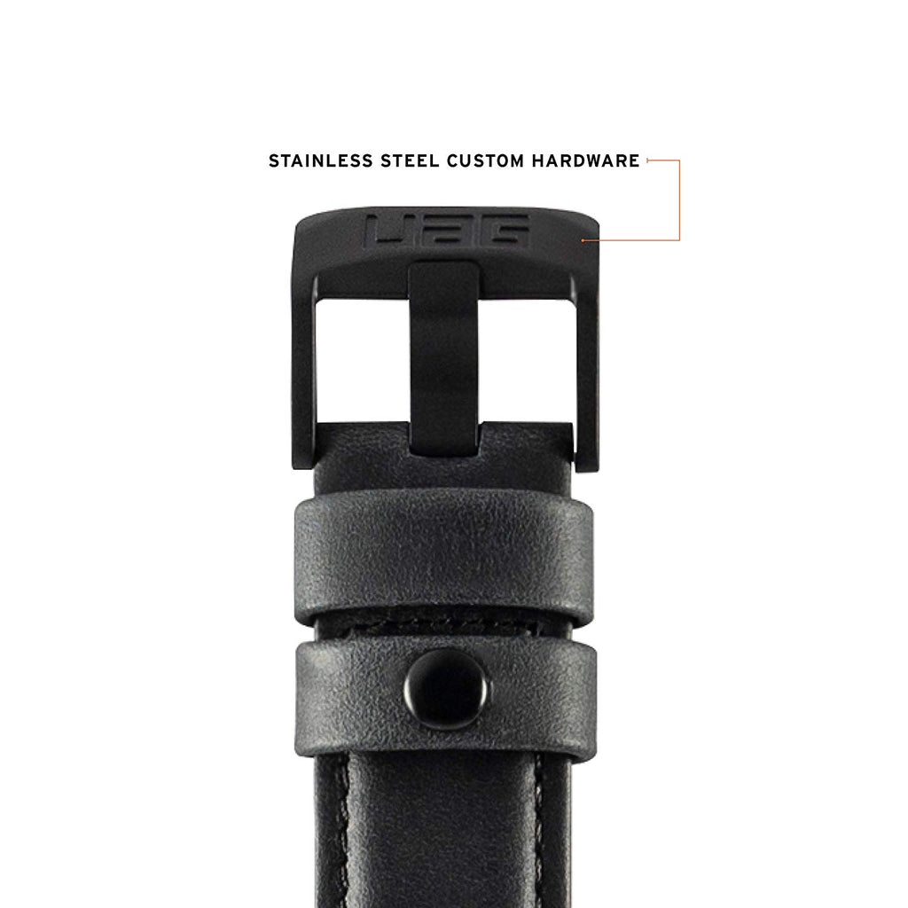 Shop Australia stock UAG LEATHER WATCH STRAP FOR APPLE WATCH 44 mm/42 mm - BLACK with free shipping online. Shop UAG collections with afterpay Australia Stock