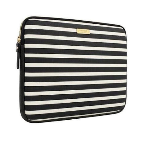 KATE SPADE NEW YORK PRINTED SLEEVE FOR SURFACE PRO 6/PRO 5/PRO 4 - FAIRMONT SQUARE BLACK/CREAM