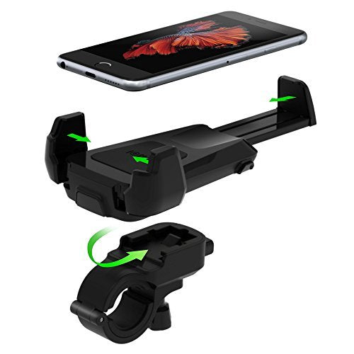 adjustable dock for bike and motorcycle from iottie. Compatible with iphone Australia Stock