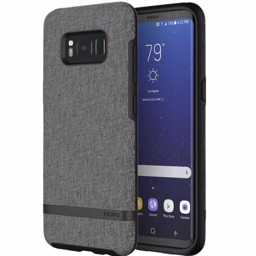 Authorized distributor to shop and buy genuine and authentic products Incipio Carnaby Esquire Premium Fabric Case For Galaxy S8+ (6.2 Inch) - Gray. Free Australia wide express shipping on Syntricate. Australia Stock