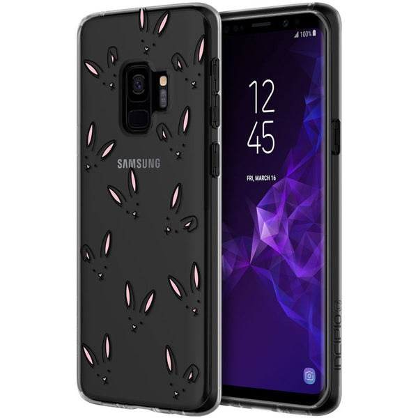 INCIPIO DESIGN CLEAR SCRATCH RESISTANT CASE FOR GALAXY S9 - FUNNY BUNNY