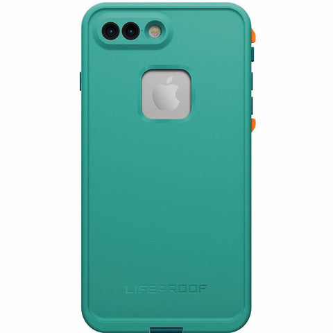 Free express shipping Australia Lifeproof Fre Built-in Scratch Protector iPhone 7+ Plus Waterproof Case Teal Green.