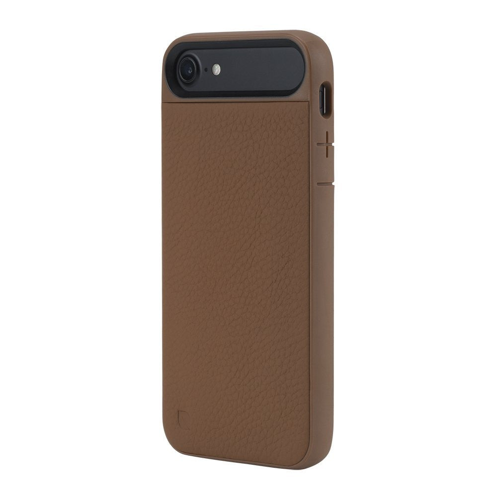 Place to shop and buy genuine Incase Icon II Pebbled Leather TENSAERLITE Case for iPhone 8/iPhone 7 - Brown colour. Free express shipping Australia wide only on Syntricate. Australia Stock