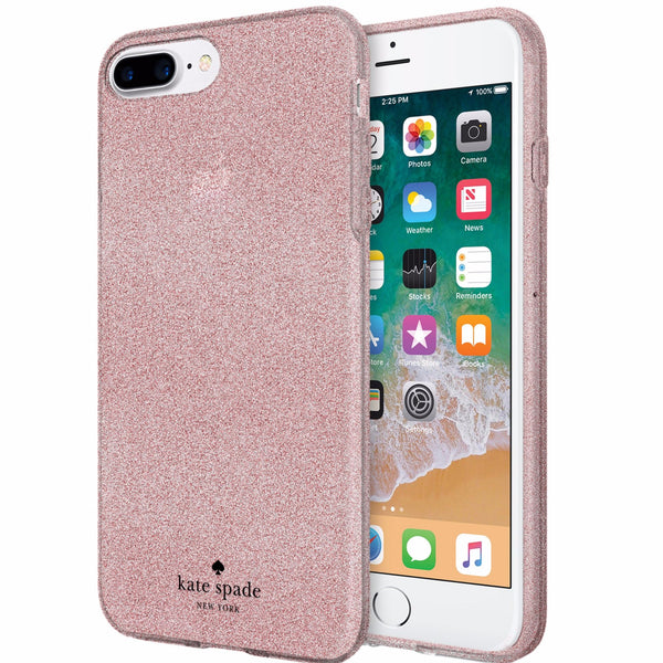 Official store to buy from trusted online store Kate Spade New York Flexible Glitter Case For Iphone 8 Plus/7 Plus - Rose Gold. Free express shipping Australia wide from authorized distributor Syntricate.