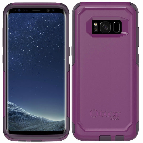 OTTERBOX COMMUTER DUAL LAYER CASE FOR GALAXY S8 - PLUM