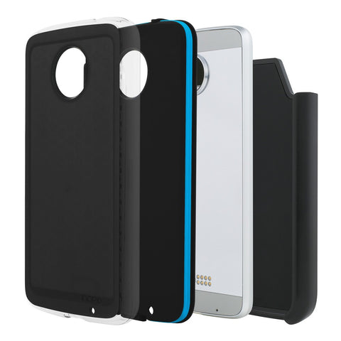 Shop Australia stock Incipio Performance Rugged Case for Motorola Moto Z - Black/Cyan with free shipping online. Shop Incipio collections with afterpay