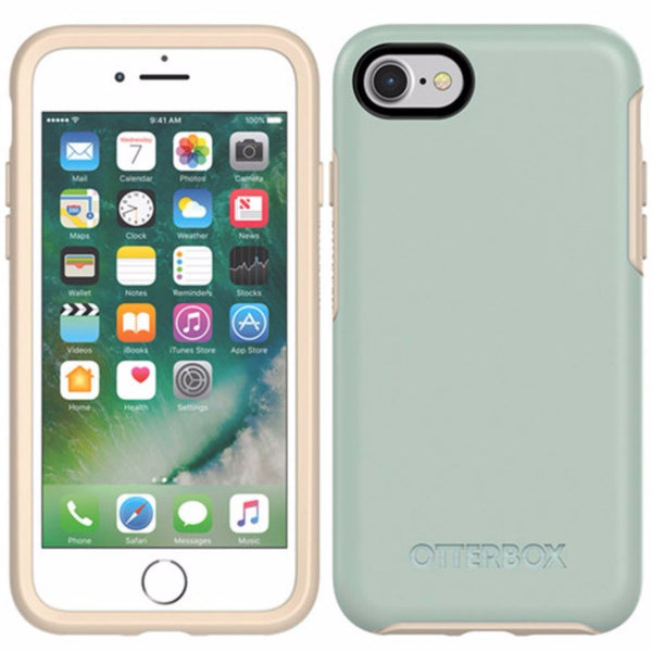 place to order otterbox symmetry sleek stylish case for iphone 8/7 - muted waters australia