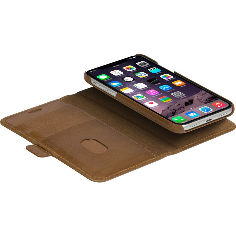 folio case leather case for iphone 11. buy online with afterpay payment and free shipping australia wide Australia Stock