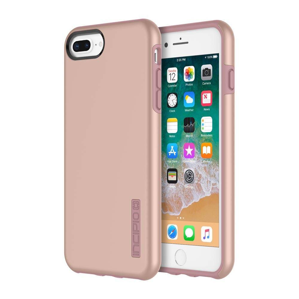 Incipio Dualpro Dual Layer Case For Iphone 8 Plus/7 Plus/6s Plus Iridescent Rose Gold Australia Australia Stock