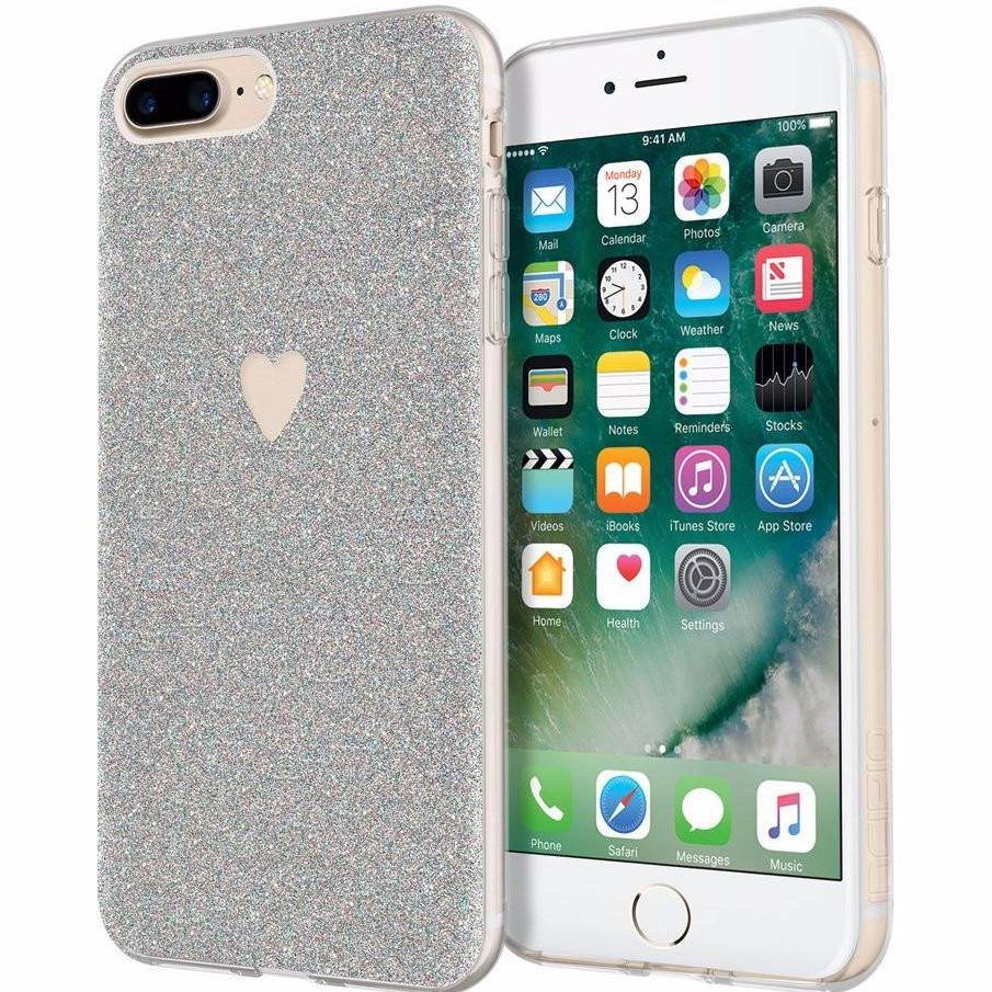 place to order online Incipio Design Series multi-glitter pointillist pattern Case for iPhone 8 Plus/7 Plus - Amour australia Australia Stock