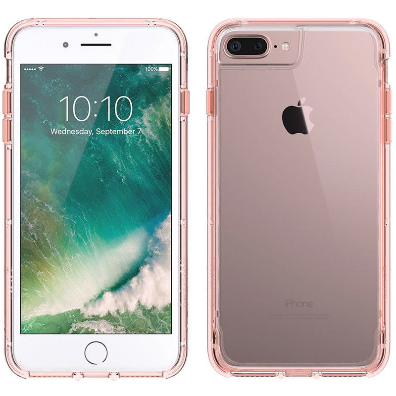 buy Griffin Survivor Clear Rugged Case for iPhone 8 Plus/7 Plus/6S Plus - Rose Gold authentic from authorized distributor australia Australia Stock