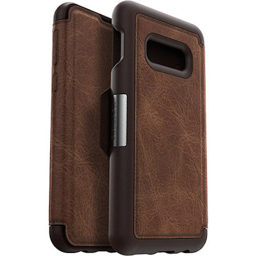 buy online folio leather case for samsung galaxy s10e