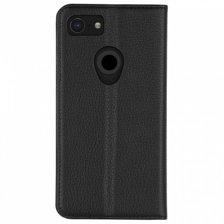 new arrival 5ab40 706df CASEMATE LEATHER WALLET CARD FOLIO CASE FOR GOOGLE PIXEL 3 - BLACK