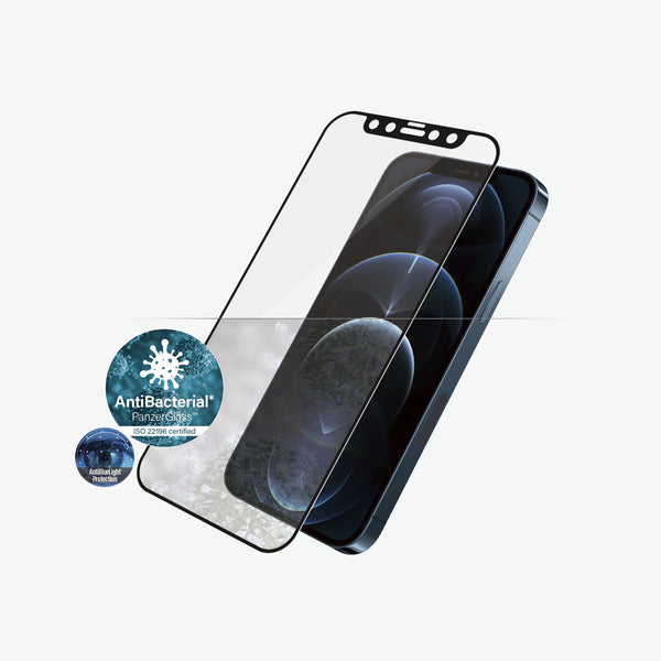 Anti bacterial screen protector for new iphone 12 pro max. Maximum protection with clear view and anti blue light protection