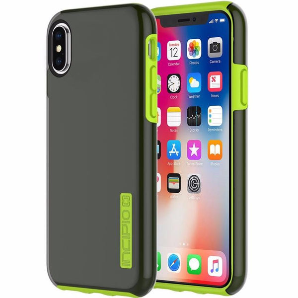 place to buy sporty and cool two tone color from Incipio Dualpro Protective Case For Iphone X - Smoke/Volt. Free express shipping Australia wide from authorized and official distributor and online store Syntricate.