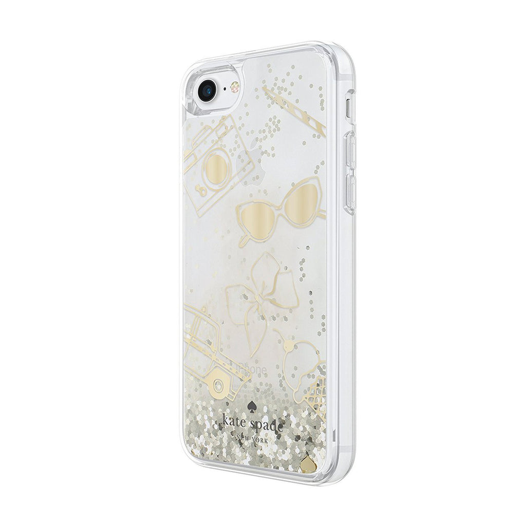 Shop Australia stock Kate Spade New York Clear Liquid Glitter Case for iPhone 8/7 - Gold / Favorite Things with free shipping online. Shop Kate Spade New York collections with afterpay Australia Stock