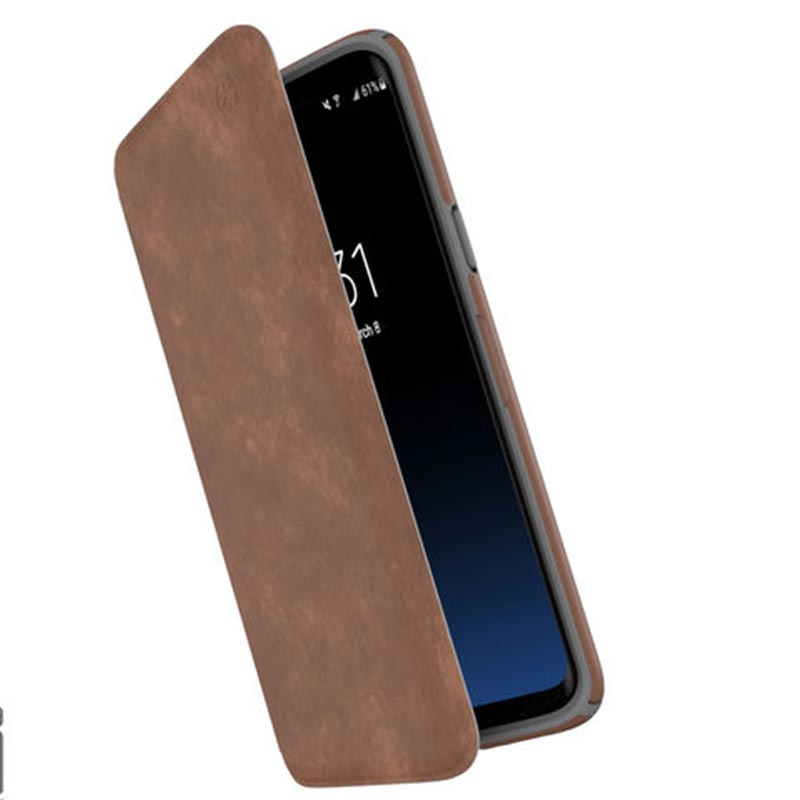 Shop Australia stock SPECK PRESIDIO IMPACTIUM LEATHER FOLIO CASE FOR GALAXY S9 - SADDLE BROWN with free shipping online. Shop Speck collections with afterpay Australia Stock