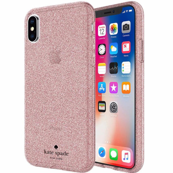 Buy genuine and original products from Kate Spade New York Flexible Glitter Case For Iphone X - Rose Gold. Free express shipping from official and authorized distributor Syntricate.
