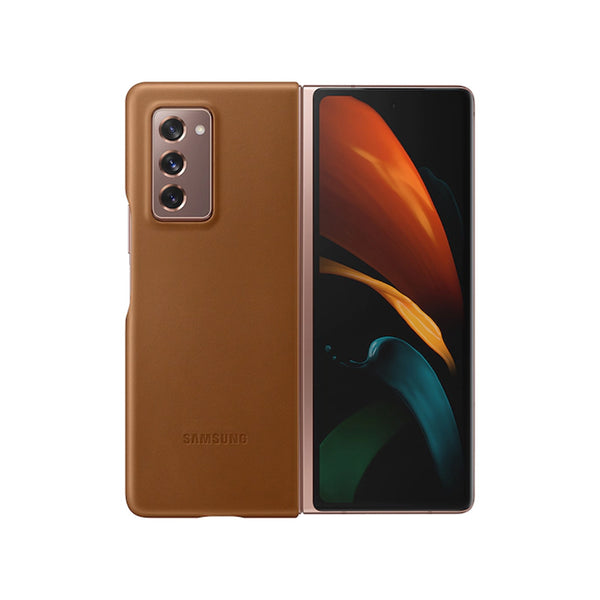 best leather case from samsung for galaxy z fold 2 2020 australia. buy online at syntricate and get free express shipping australia wide