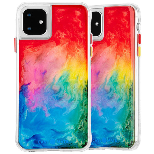 "Shop Australia stock CaseMate Tough Watercolour Case For iPhone 11 (6.1"") - Rainbow Splash with free shipping online. Shop Casemate collections with afterpay"