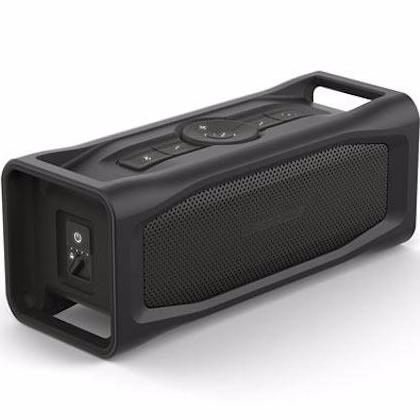 buy lifeproof aquaphonics aq10 portable bluetooth waterproof speaker - obsidian sand black australia