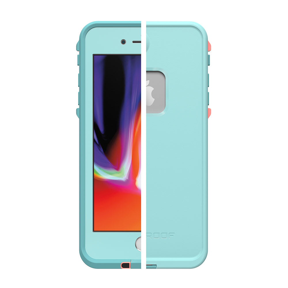free express shipping australia for iphone 7 plus lifeproof fre waterproof case blue Australia Stock