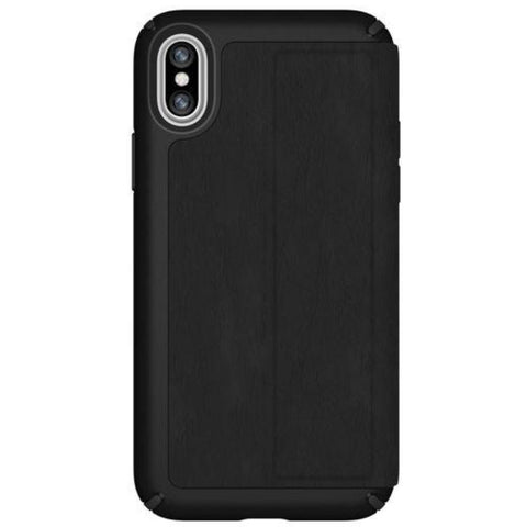 Get the latest stock PRESIDIO CARD FOLIO LEATHER CASE FOR IPHONE XS MAX - BLACK/BLACK FROM SPECK free shipping & afterpay.