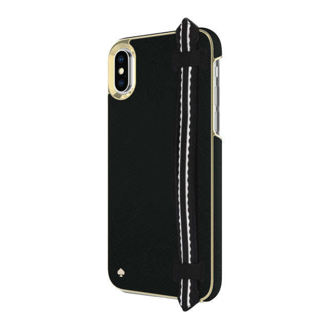 Shop Australia stock KATE SPADE NEW YORK WRAP STRAP CASE FOR IPHONE XS MAX - SAFFIANO BLACK/GOLD with free shipping online. Shop Kate Spade New York collections with afterpay Australia Stock